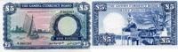 5 Pounds ND(1965-70) GAMBIA P.3a unc/kassenfrisch  430,00 EUR  zzgl. 4,50 EUR Versand