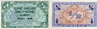 1/2 Mark 1948 Bank Deutscher Länder Ros.231a - B-Stempel - unc/kassenfr... 190,00 EUR  zzgl. 4,50 EUR Versand