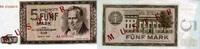 5 Mark 1964 Deutsche Noten Bank 1964 - Serie AA - unc/kassenfrisch  82,00 EUR  zzgl. 4,50 EUR Versand