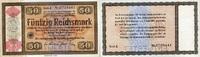 50 REICHSMARK 28.8.1933 Wertpapiere / Steuergutscheine - KONVERSIONSKAS... 120,00 EUR  zzgl. 4,50 EUR Versand
