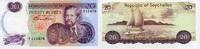 20 RUPEES ND(1974) SEYCHELLEN P.20a 1/1-  160,00 EUR  +  6,50 EUR shipping