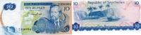 10 Rupees ND(1976) SEYCHELLEN P.19 unc/kassenfrisch  52,00 EUR  zzgl. 4,50 EUR Versand