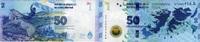 50 Pesos 2015 Argentinien - Ausgabe Falkland-Insel - unc/kassenfrisch  10,00 EUR