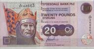 20 Pounds 01.11.1997 Scotland Clydesdale Bank PLC 20 Pounds Pick 228a u... 95,00 EUR  zzgl. 4,50 EUR Versand