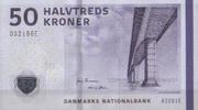 50 Kronen 2009 Dänemark Pick 65a unc/kassenfrisch  16,00 EUR  +  6,50 EUR shipping