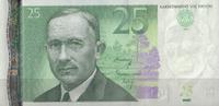 25 Krooni 2002 Estland Pick 84a unc/kassenfrisch  5,95 EUR  +  6,50 EUR shipping