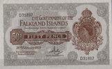 50 Pence 1974 Falkland Insel Pick 10b unc  65,00 EUR
