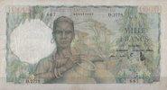 1.000 Francs 19.12.1952 French-Westafrika  3  128,00 EUR
