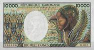 10.000 Francs ND(1984) Gabon Pick 7a unc  140,00 EUR  +  6,50 EUR shipping