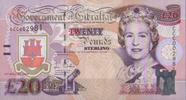 20 Pounds 2004 Gibraltar Pick 31a unc/kassenfrisch  60,00 EUR  +  6,50 EUR shipping