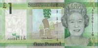 1 Pound 2010 Jersey Neue Serie Pick 32a unc/kassenfrisch  3,00 EUR  zzgl. 3,95 EUR Versand