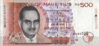 500 Rupees 1998 Mauritius Pick 46 unc/kassenfrisch  52,00 EUR  +  6,50 EUR shipping