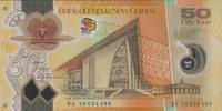 50 Kina 2010 Papua New Guinea P.42/2010 unc/kassenfrisch  33,00 EUR  zzgl. 4,50 EUR Versand