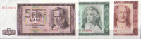 DDR-Banknotensatz 1964  