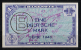 1 Mark 1948 Bank Deutscher Länder Ros.233 1-2  105,00 EUR  +  6,50 EUR shipping