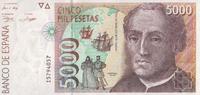 5.000 Pesetas  Spanien Pick 165 unc/kassenfrisch  90,00 EUR  +  6,50 EUR shipping