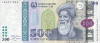 500 Somoni 2010 Tadschikistan Pick 22 unc  180,00 EUR