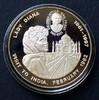 5 Francs 2000 Kongo (Kinshasa) K-N, versilbert / Lady Diana, Besuch in ... 25,00 EUR  zzgl. 4,00 EUR Versand