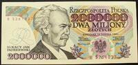 2 Mio. Zlotych 14.08.1992 Polen P. 158 b / Serie B 526837 kfr  55,00 EUR