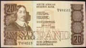 20 Rand ND(1982-85) Südafrika P. 121 c / Sign.6 kfr  35,00 EUR  zzgl. 6,00 EUR Versand