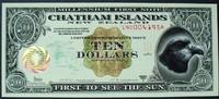 10 Dollars 2000 Chatham Inseln Polymer / Millenium kfr  26,00 EUR  zzgl. 6,00 EUR Versand