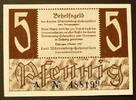 5 Pfennig Okt. 1947 Württemberg-Hohenzollern Ros. 214 a / Serie A I  24,00 EUR