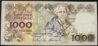 1.000 Escudos 3.3.1994 Portugal P. 181 k / Serie 3B55195902 kfr  30,00 EUR  zzgl. 6,00 EUR Versand