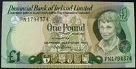 Nordirland 1 Pound P. 247 b / Provincial Bank of Ireland Limited / Serie PN 179437