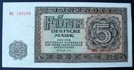5 DM 1948 DDR Ros. 342 b / 6 stell. Seriennummer BX 168298 / RAR ! I  45,00 EUR  zzgl. 6,00 EUR Versand