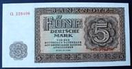 5 DM 1948 DDR Ros. 342 b / 6 stell. Seriennummer CL 228406 / RAR ! I  45,00 EUR