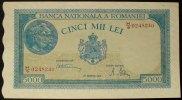 5.000 Lei 20.12.1945 Rumänien P. 56 a / Serie H/9 0248240 kfr  25,00 EUR  zzgl. 4,00 EUR Versand