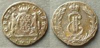1 Kopeke 1772 Russland - Sibirien 1 Kopeke / K / E.M. / Katharina II. s... 180,00 EUR  zzgl. 6,00 EUR Versand