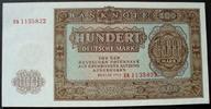 100 DM 1955 DDR Ros. 353 a I  30,00 EUR  zzgl. 6,00 EUR Versand
