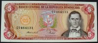 Dominikanische Republik 5 Pesos Oro P. 118 c