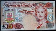 Gibraltar 10 Pounds 1.7.1995 kfr P. 26 a /...