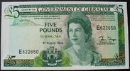5 Pounds 4.8.1988 Gibraltar P. 21 b kfr  30,00 EUR  zzgl. 6,00 EUR Versand