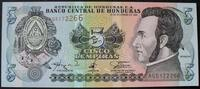 Honduras 5 Lempiras P. 81