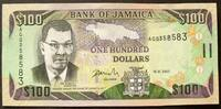 Jamaika 100 Dollars P. 84 e