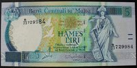 5 Liri ND(1994) Malta P. 46 b kfr  38,00 EUR