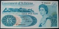 5 Pounds ND(1981) St. Helena P. 7 b / Sign.2 / Serie H/I 394535 kfr  52,00 EUR  zzgl. 6,00 EUR Versand