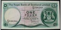 1 Pound 10.1.1981 Schottland P. 336 a / Serie C/I3 538289 kfr  35,00 EUR