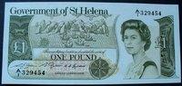 1 Pound ND(1981) St. Helena P. 9 a kfr  22,00 EUR  zzgl. 4,00 EUR Versand