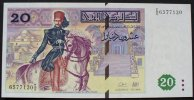 Tunesien 20 Dinars 7.11.1992 kfr P. 88