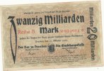 Deutsches Reich, Sachsen, 20 Mrd.Mark Dresden Stadt,