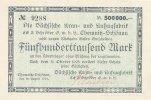 500ooo Mark  1923 Deutsches Reich, Sachsen, Chemnitz-Schönau Sächsische... 29,99 EUR  Excl. 4,00 EUR Verzending