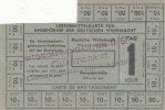 Lebensmittelkarte  2.Wk. Deutsches Reich, Drittes Reich, Für Angehörige... 29,99 EUR  zzgl. 1,80 EUR Versand