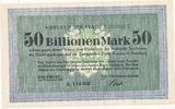 50 Billionen Mark 1923 Deutsches Reich, Nordrhein-Westfalen, Duisburg S... 69,99 EUR  Excl. 7,00 EUR Verzending