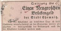 1 Neugroschen  Altdeutschland, Sachsen, Chemnitz, Brückengeld, gebrauch... 29,99 EUR  Excl. 4,00 EUR Verzending