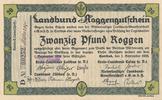 20 Pfund Roggen 1923 Deutsches Reich, Brandenburg, Cottbus, Landbund Ro... 34,99 EUR  Excl. 7,00 EUR Verzending