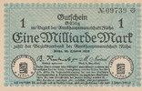 1 Milliarde Mark 1923 Deutsches Reich, Sachsen, Flöha, Bezirksverband d... 29,99 EUR  Excl. 4,00 EUR Verzending